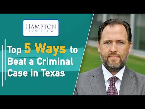 Top 5 Ways to Beat a Criminal Case! (2021)