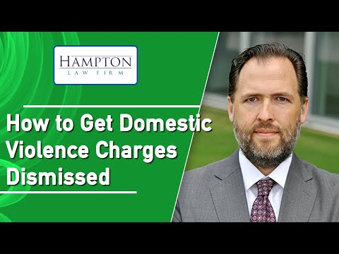 How To Get Domestic Violence Charges Dismissed: Affidavits of Non Prosecution (2021)