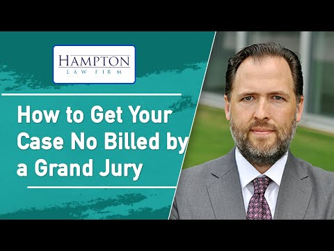 No Bill by a Grand Jury - A Former DA Tells You How It Works (2021)
