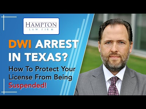 DWI License Suspension? PROTECT YOUR LICENSE FROM BEING SUSPENDED! (2021)