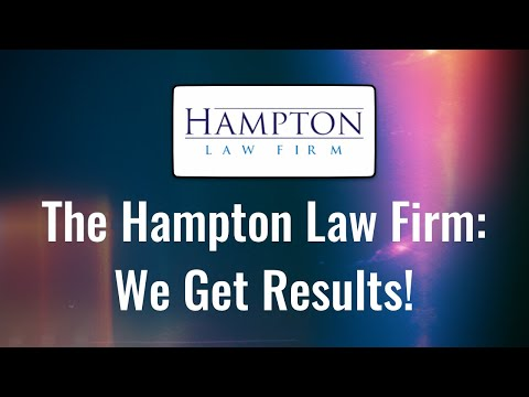 The Hampton Law Firm: The Criminal Defense Lawyers That Get Results!