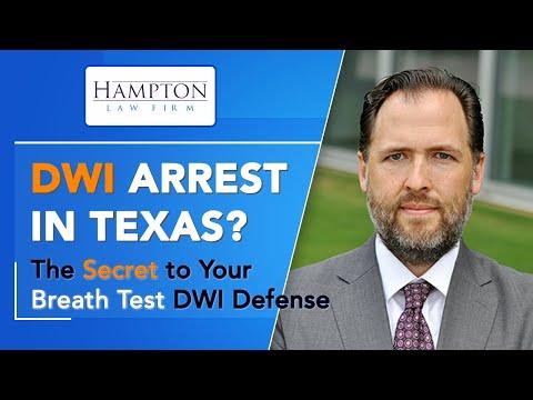 DWI Breath Test - Learn the SECRET to Your DWI Breath Test Defense (2021)