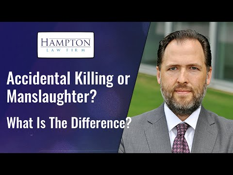 Accidental Killing or Involuntary Manslaughter? A Former DA Breaks Down The Law (2021)