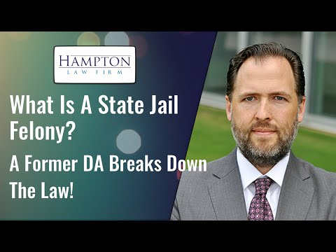What Is A State Jail Felony? A Former DA Breaks Down The Law! (2021)