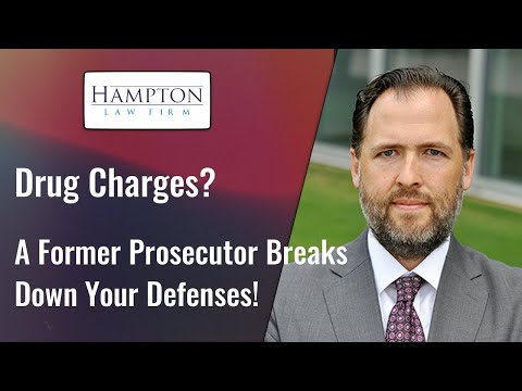 Drug Charges? A Former Prosecutor Breaks Down Your Legal Defenses! (2021)