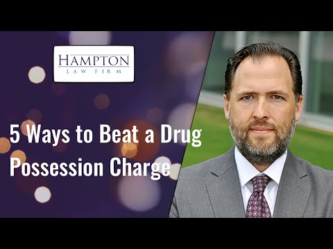 5 Ways To Beat A Drug Possession Charge! A Former DA Breaks Down Your Drug Defense! (2021)