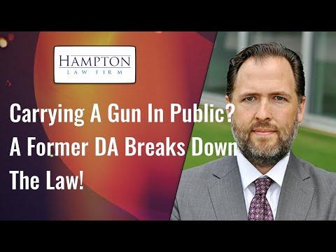 Carrying A Gun In Public? A Former DA Breaks Down The Law! (2021)