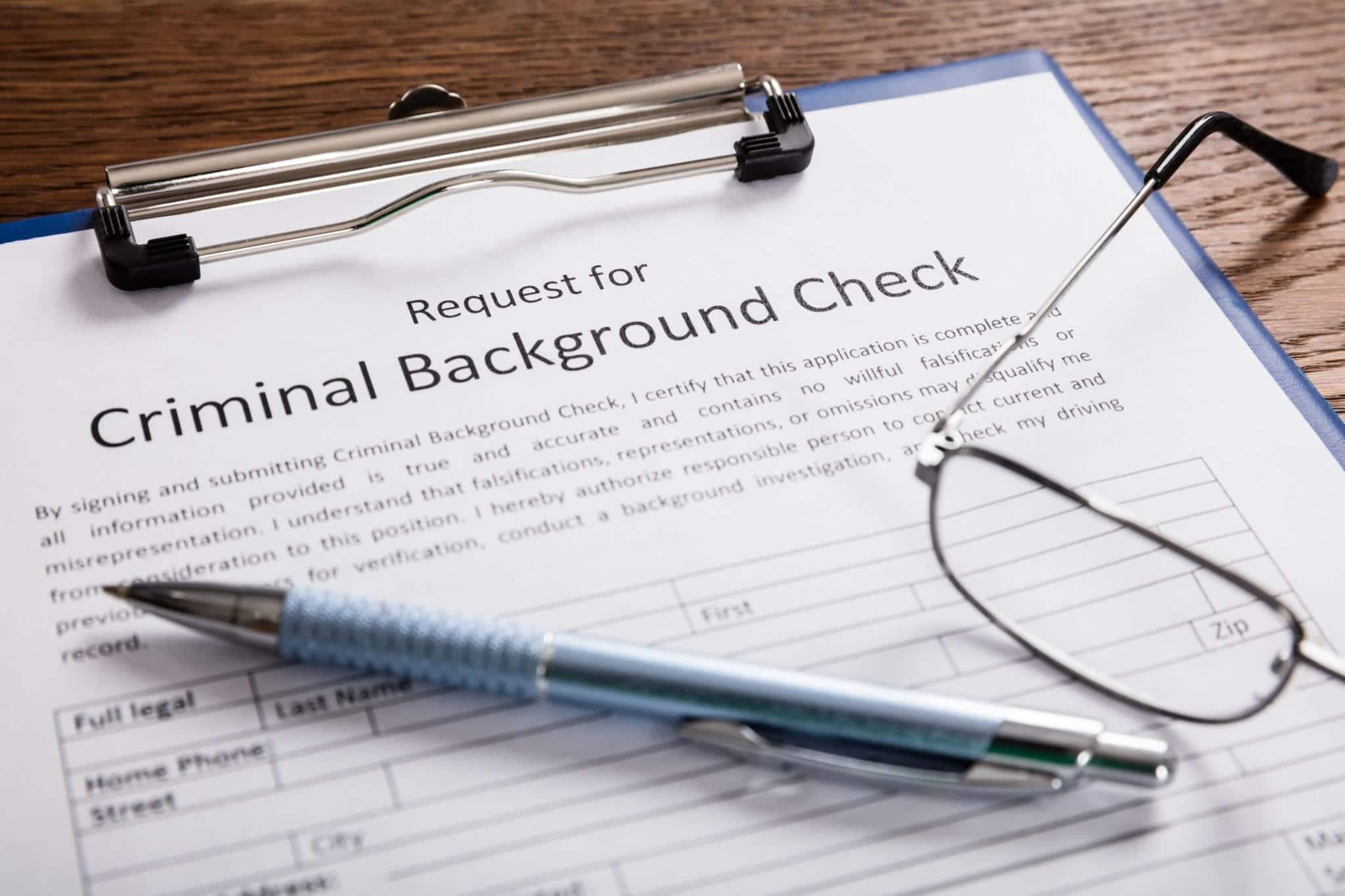 Criminal Record Sealing